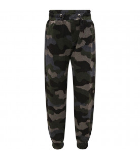 GOGANGA Camouflage boy sweatpants