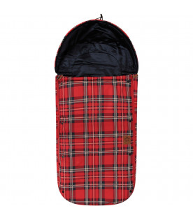 MINI RODINI Red sleeping bag