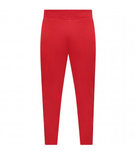 GIVENCHY KIDS Red girl pants with red logo