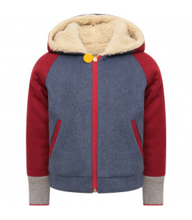 MUMOFSIX Heavenly girl jacket with red patch