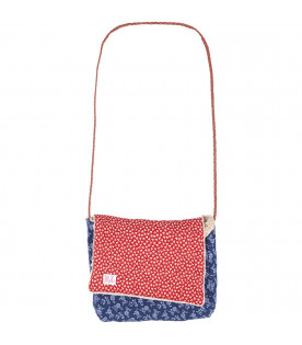 RALPH LAUREN KIDS Colorful girl reversible bag