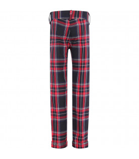 PRVT LABEL Colorful boy pants
