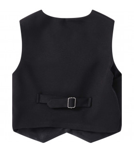 PRVT LABEL Black boy vest