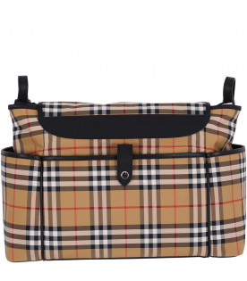 BURBERRY KIDS Vintage check babykids changing bag