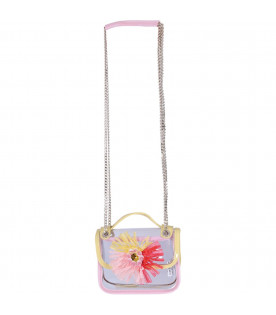 SIMONETTA Girl bag with colorful flower