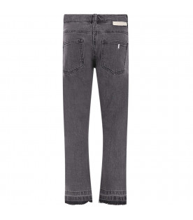 STELLA MCCARTNEY KIDS Grey girl jeans