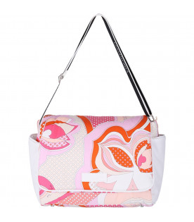 EMILIO PUCCI JUNIOR Borsa mamma multicolor