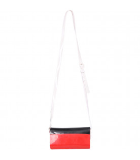 MINI MELISSA Black and red girl bag