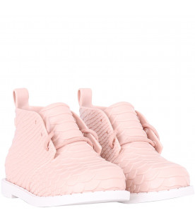 MINI MELISSA Pink girl boots