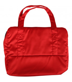 MOSCHINO KIDS Red kids changing bag
