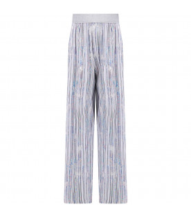Multicolor girl pants