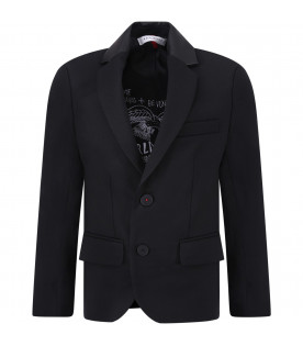 Black boy jacket