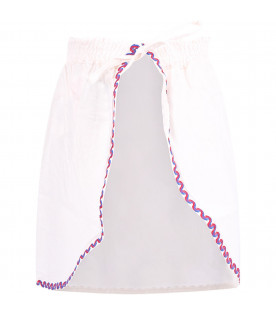 BOBO CHOSES White girl apron with cherries
