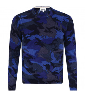 ZADIG & VOLTAIRE KIDS Camouflage boy sweater