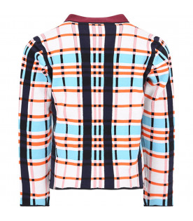 MARNI KIDS Cardigan colorate per bambina