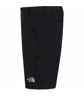 THE NORTH FACE KIDS Black boy short with grey logo