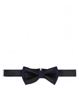 DONDUP KIDS Black and blue boy bow-tie