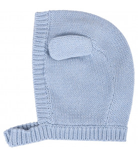 STELLA MCCARTNEY KIDS Light blue babyboy hat