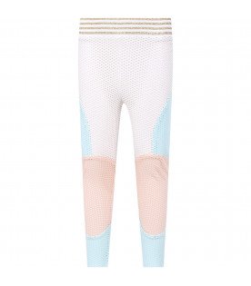 Color block ''Anna'' girl leggings