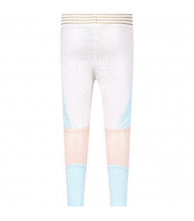Leggings color block ''Anna'' per bambina