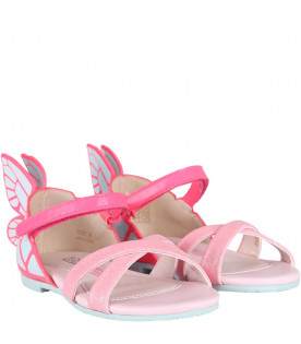 SOPHIA WEBSTER MINI Colorful ''Chiara'' girl sandals