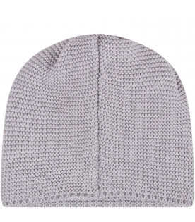LITTLE BEAR Grey babykids hat