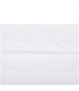 LITTLE BEAR White babykids set with yellow polka-dots