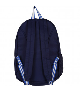 RALPH LAUREN KIDS Blue kids back pack with logo