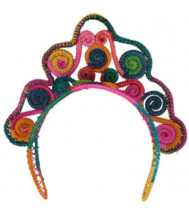 Colorful tiara for girl