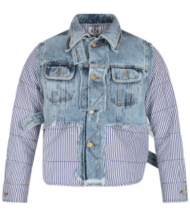 Denim boy jacket