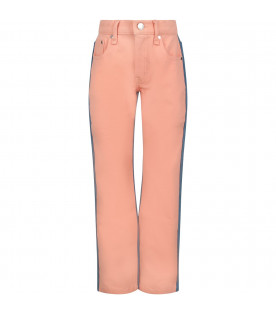 Pink and light blue girl ''Blair'' jeans