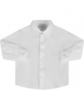 PRVT LABEL White babyboy shirt