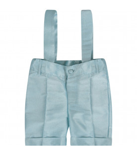 PRVT LABEL Light blue babyboy short