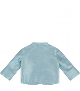 PRVT LABEL Light blue babyboy jacket