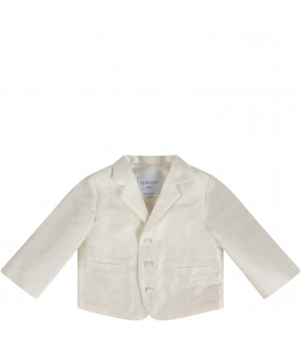 PRVT LABEL Ivory babyboy jacket
