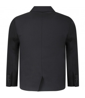 PAUL SMITH JUNIOR Black boy jacket