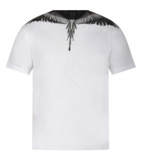 White boy T-shirt with iconic wings