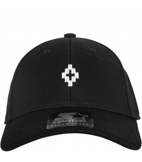 Black kids hat with cross