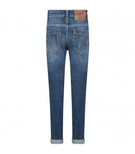 Light blue ''George'' boy jeans with iconic D