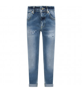 Light blue ''Roddy'' boy jeans witn iconic D