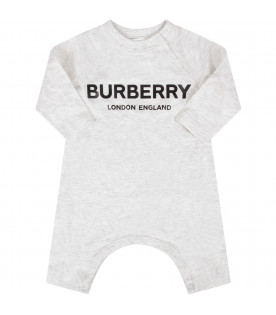 Grey babykids set with black logo