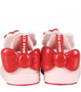 MINI MELISSA Pink girl shoes with Hello Kitty