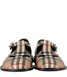 BURBERRY KIDS Vintage kids checked shoes