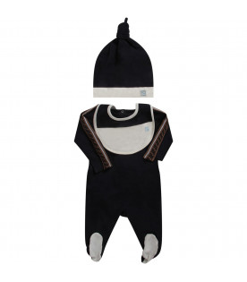 huge selection of bfdd6 5e680 Fendi Kids Set blu