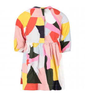 STELLA MCCARTNEY KIDS Abito color block per bambina