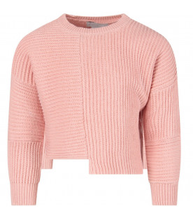 STELLA MCCARTNEY KIDS Pink girl sweater