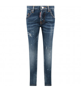 Light blue ''Skarter'' boy jeans with double DD