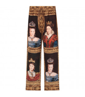 Black girl pants with queens