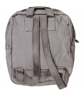 BOBO CHOSES Grey kids backpack with Saturn