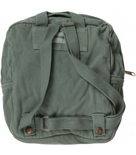 BOBO CHOSES Sage green kids backpack